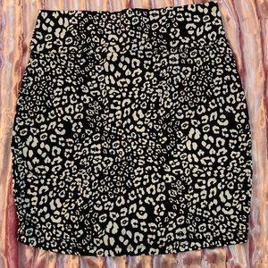 New! Charlotte Russe Leopard Print Skirt- Size 2x